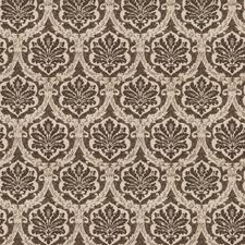 Charcoal Damask Drapery and Upholstery Fabric by Vervain
