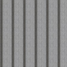 Hematite Stripes Drapery and Upholstery Fabric by Fabricut