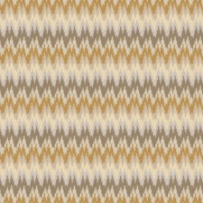 Gold Dust Flamestitch Drapery and Upholstery Fabric by Trend