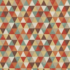 Canyon Geometric Drapery and Upholstery Fabric by Trend