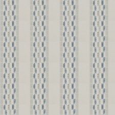 Ice Blue Stripes Drapery and Upholstery Fabric by Stroheim