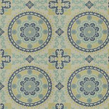 Aegean Geometric Drapery and Upholstery Fabric by Trend