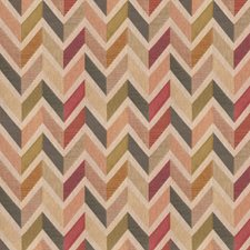 Carnival Geometric Drapery and Upholstery Fabric by Trend