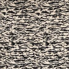 Tigre Blanc Drapery and Upholstery Fabric by Schumacher