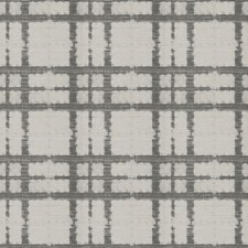 Graphite Check Drapery and Upholstery Fabric by Fabricut