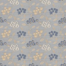 Bluejay Embroidery Drapery and Upholstery Fabric by Fabricut