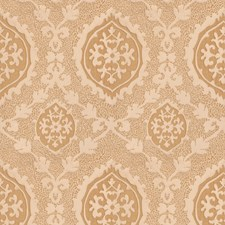 Spun Gold Damask Drapery and Upholstery Fabric by Vervain