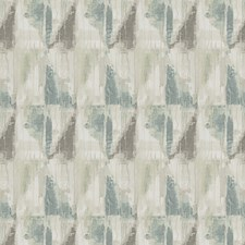 Blue Fog Geometric Drapery and Upholstery Fabric by Fabricut