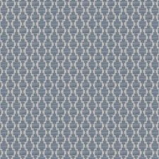 Azure Geometric Drapery and Upholstery Fabric by Fabricut