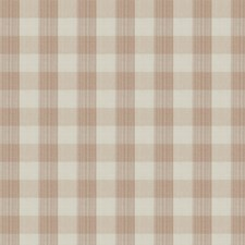Rosewater Check Drapery and Upholstery Fabric by Stroheim