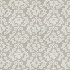 Grey Floral Drapery and Upholstery Fabric by Stroheim