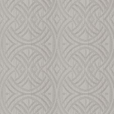 Grey Lattice Drapery and Upholstery Fabric by Fabricut