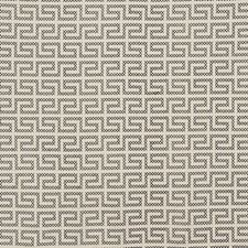Black On Ivory Drapery and Upholstery Fabric by Schumacher