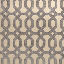 Robins Egg Geometric Drapery and Upholstery Fabric by Trend