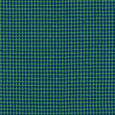 Navy/Green Drapery and Upholstery Fabric by Schumacher
