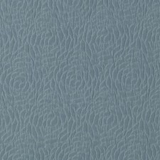 Aqua Floral Medium Drapery and Upholstery Fabric by Duralee