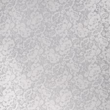 Taupe Floral Drapery and Upholstery Fabric by Trend