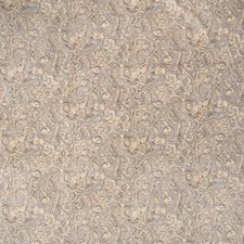 Robins Egg Paisley Drapery and Upholstery Fabric by Trend