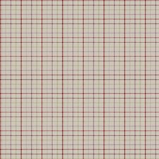 Berry Check Drapery and Upholstery Fabric by Trend
