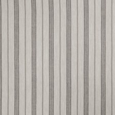 Dove Gray Stripes Drapery and Upholstery Fabric by Trend