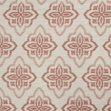 Blush Medallion Drapery and Upholstery Fabric by Trend