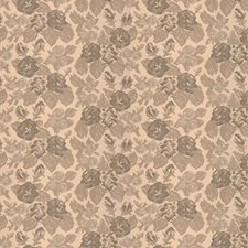 White Arborutem Floral Drapery and Upholstery Fabric by S. Harris