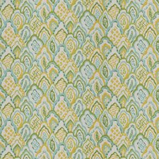 Lemon Geometric Drapery and Upholstery Fabric by Stroheim