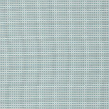 Cayman Blue Small Scale Woven Drapery and Upholstery Fabric by Stroheim