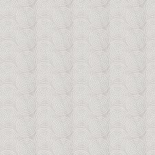 Silver Embroidery Drapery and Upholstery Fabric by Fabricut