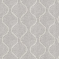 Winter White Embroidery Drapery and Upholstery Fabric by Fabricut