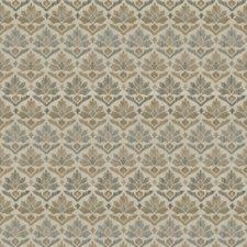Nougat Damask Drapery and Upholstery Fabric by Stroheim
