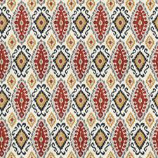 Multi Global Drapery and Upholstery Fabric by Fabricut
