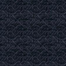 Bluecoal Geometric Drapery and Upholstery Fabric by S. Harris