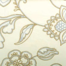Rattan Embroidery Drapery and Upholstery Fabric by Highland Court