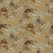 Chestnut Animal Drapery and Upholstery Fabric by Brunschwig & Fils