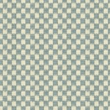 French Blue Drapery and Upholstery Fabric by Brunschwig & Fils