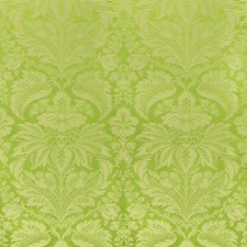 Green Damask Drapery and Upholstery Fabric by Brunschwig & Fils
