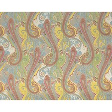 Spruce Paisley Drapery and Upholstery Fabric by Brunschwig & Fils