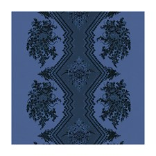 Bleu Botanical Drapery and Upholstery Fabric by Brunschwig & Fils