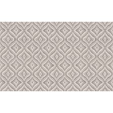 Grey Geometric Drapery and Upholstery Fabric by Brunschwig & Fils