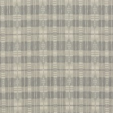 Grey Plaid Drapery and Upholstery Fabric by Brunschwig & Fils