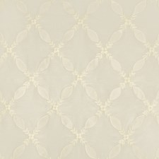 White Embroidery Drapery and Upholstery Fabric by Brunschwig & Fils