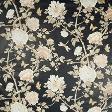 Petal Botanical Drapery and Upholstery Fabric by Brunschwig & Fils
