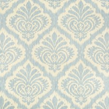 Sky Damask Drapery and Upholstery Fabric by Brunschwig & Fils