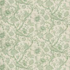 Aloe Toile Drapery and Upholstery Fabric by Brunschwig & Fils