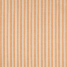 Orange Stripes Drapery and Upholstery Fabric by Brunschwig & Fils