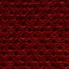 Cranberry Jacquard Pattern Drapery and Upholstery Fabric by S. Harris