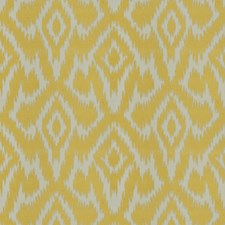 Lemon Geometric Drapery and Upholstery Fabric by Stroheim