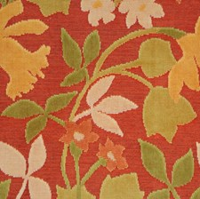 Citrus Berry Floral Drapery and Upholstery Fabric by S. Harris