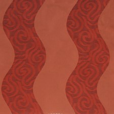 Ruby Geometric Drapery and Upholstery Fabric by S. Harris